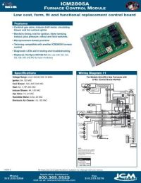 ICM293 Intermittent Pilot Gas Ignition Control Module ...