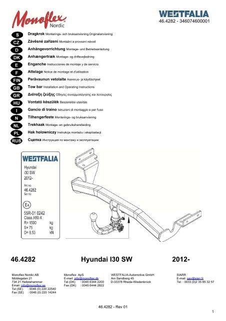 46.4282 Hyundai I30 SW 2012-