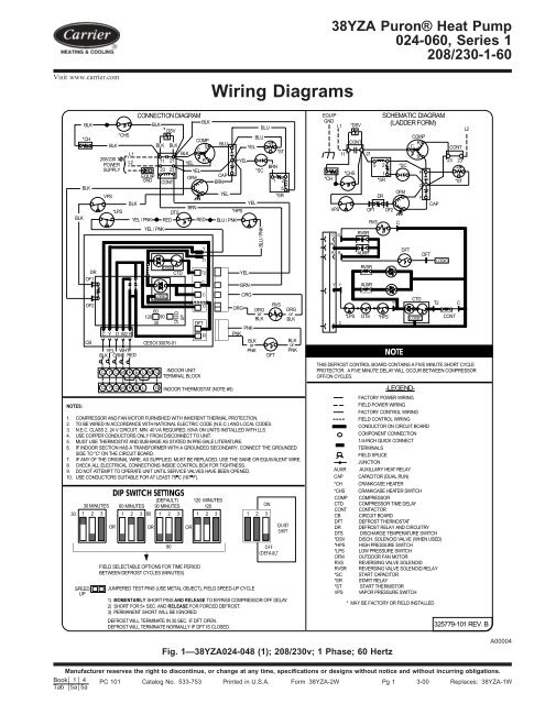 wiring diagrams  carrier
