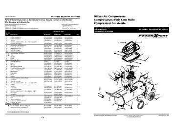 Diagram Craftsman 20 Gallon Air Compressor Parts. Diagram