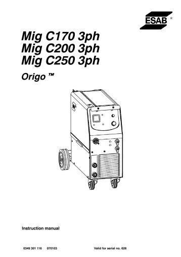 Origo? Feed 3004 MA24 with Mig 4002c/6502c Power Supply