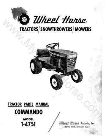 Toro® Wheel Horse® Classic 300 Series Garden Tractor