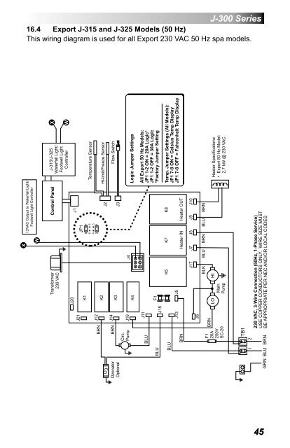 Marqui Hot Tub Wiring Diagram