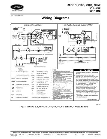 Wiring Diagrams  Carrier