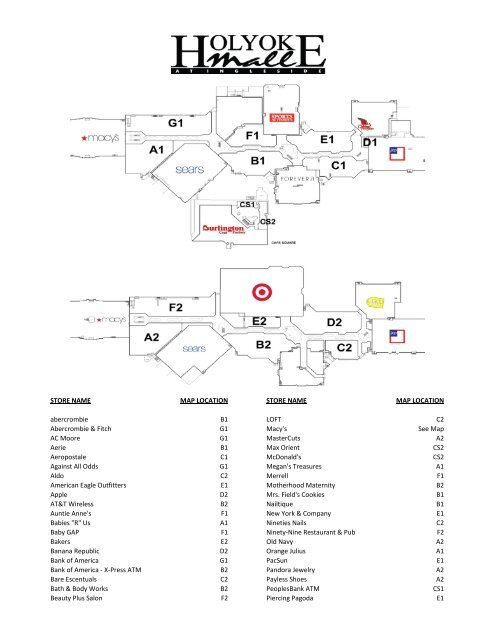 Crossgates Mall Map : crossgates, Crossgates, Store, Directory, Catalog, Online