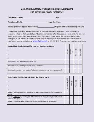 Form 24 Sample Committee Self-Assessment Survey
