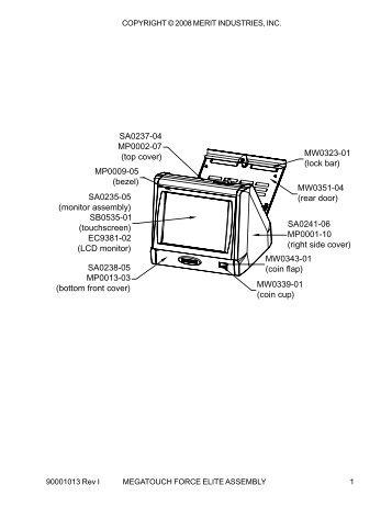 Cafina C60 Parts Diagrams