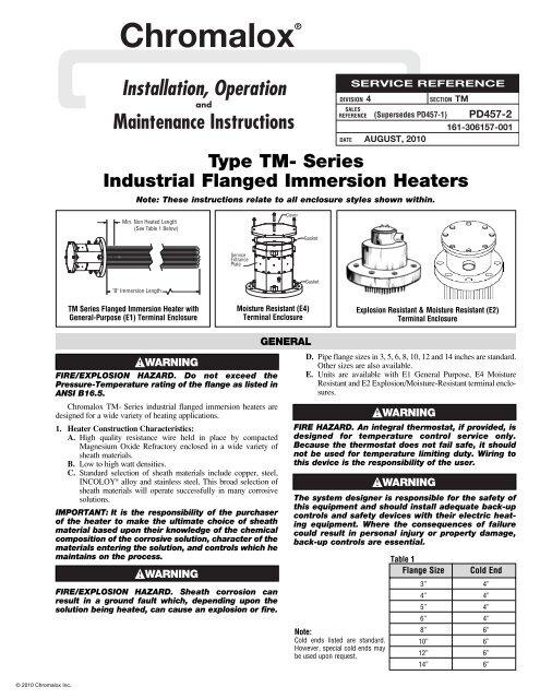 chromalox heater wiring diagram lt1 swap common diagrams