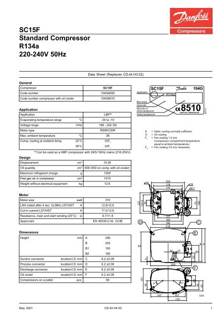 File Name: Maneurop Compressor Electrical Drawing