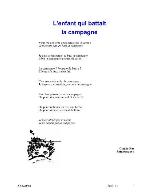 L'enfant Qui Battait La Campagne : l'enfant, battait, campagne, L'enfant, Battait, Campagne