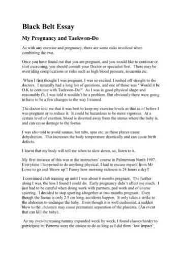 taekwondo essay for black belt docoments ojazlink belt essay taranaki itf taekwondo