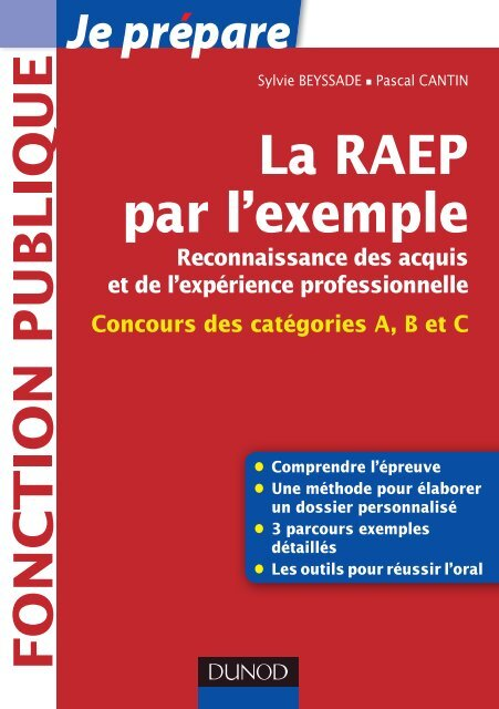 Exemple Dossier Raep Saenes Rempli : exemple, dossier, saenes, rempli, L'exemple, Dunod