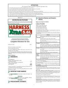 Harness Xtra Label : harness, label, Www.monsanto.com, Magazines