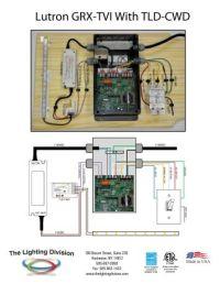 W-Lutron DVTV TLD-401-6-12 - The Lighting Division