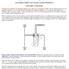 Mopar Electronic Ignition Conversion Wiring Diagram Receptacle Install Bosch Toyskids Co Plate Rema Rh Yumpu Com Basic Switch Chrysler