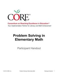 Kitchen Table Math Book 1 (ver 2) - Art of Problem Solving