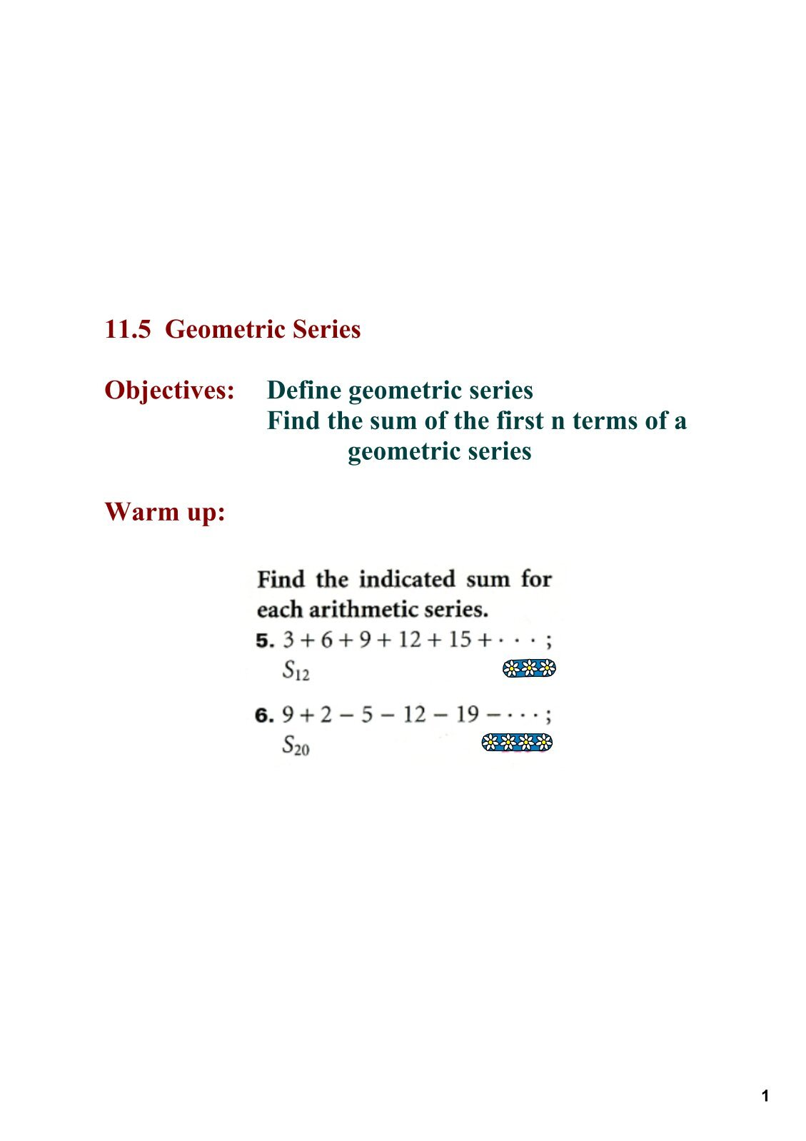 Geometric Sequence Equation Finder