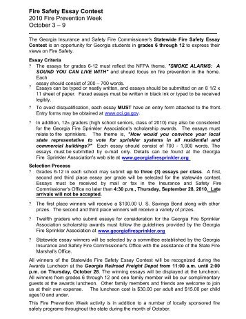 Fire Safety Essay 7 Effective Application Essay Tips For Electrical