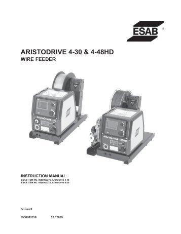 SWFU-24 Servo powered wire feeder