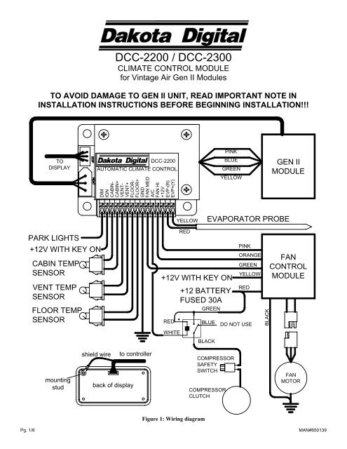 Vintage Air Gen 1 Wiring Diagram For Your Needs