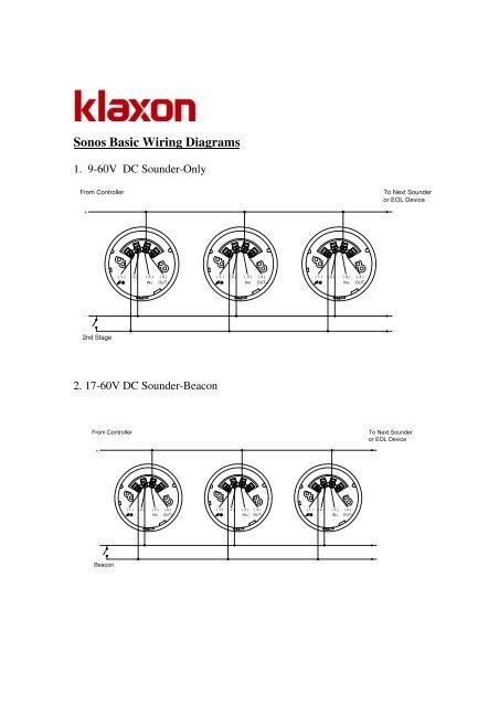 sonos wiring diagram f150 radio basic diagrams klaxon signals ltd