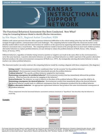 Efficient Functional Behavior Assessment: The Functional ... - PBIS