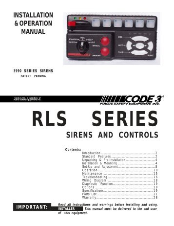3990 series sirens code 3 public safety equipment?resize\\\=357%2C462\\\&ssl\\\=1 code alarm ca1051 wiring diagram gandul 45 77 79 119  at panicattacktreatment.co