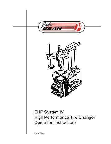 540 Telescoping Tilt-Tower Tire Changer