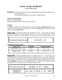 Worksheet 6  Displacement Reactions and Acid/Base ...