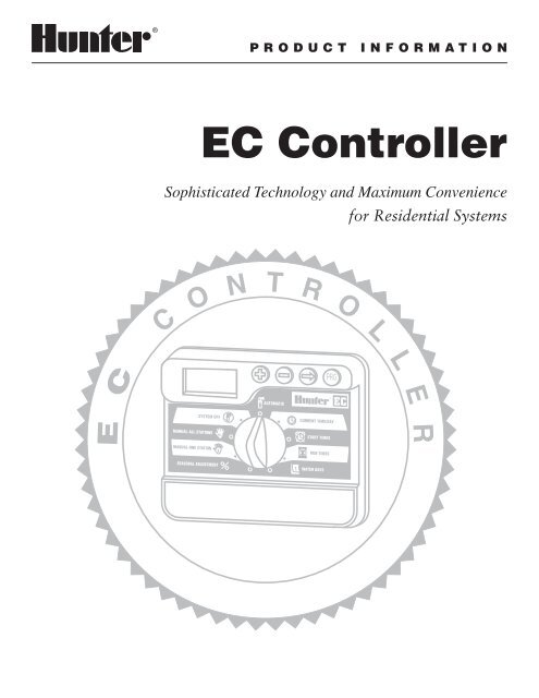 Hunter EC Controller Troubleshooting Guide and