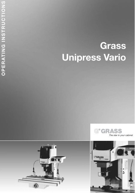 Grass Ecopress Manual