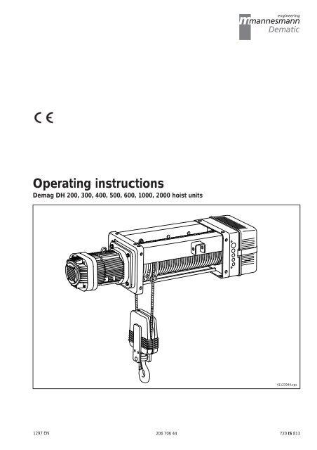 Demag Hoist Wiring Diagram | mwb-online.co on