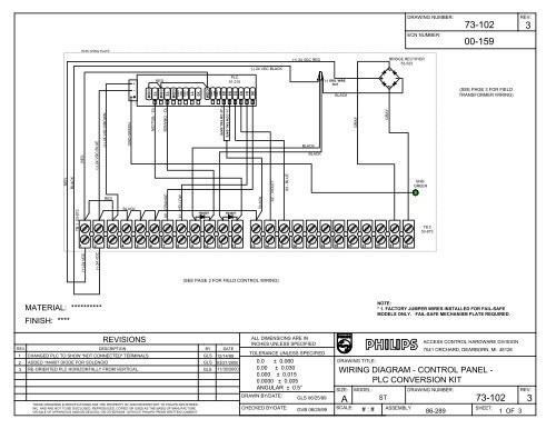 Visio-73-102 PLC Conversion Wiring Diagram.vsd