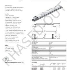 Tridonic Emergency Ballast Wiring Diagram Easy Series Circuit Venn Lighting Units Em Basic Lp 2 220