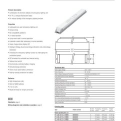 Tridonic Emergency Ballast Wiring Diagram Email Flow Lighting Units Pc Combo Tc L