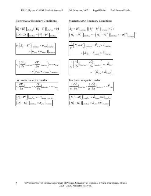 UIUC Physics 435