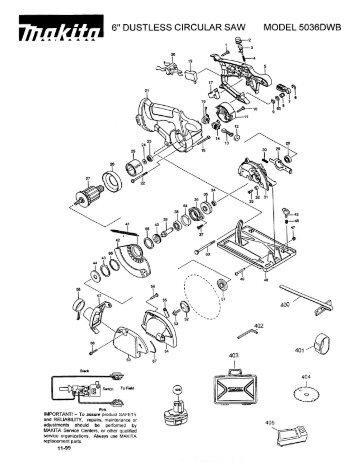 Makita Table Saw Wiring Diagram Ryobi Table Saw Wiring