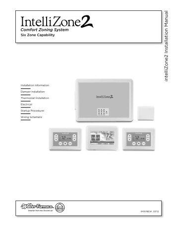 Premier IntelliZone ZDR and ZDC Damper Installation