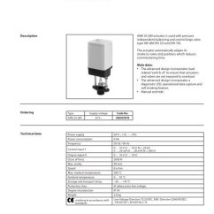 Danfoss Mid Position Valve Wiring Diagram Ge Kv2c Form 48a Actuator For Modulating Control Ame 55 Qm Com