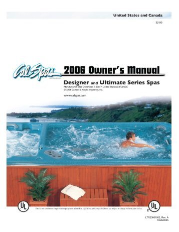 cal spa whisper power unit wiring diagram yamaha g2 electric at its best spas 2006 inground owner s manual