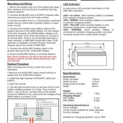 Piranha Dual Battery System Wiring Diagram 1972 Toyota Land Cruiser Fj40 Dbe180s Management Offroad