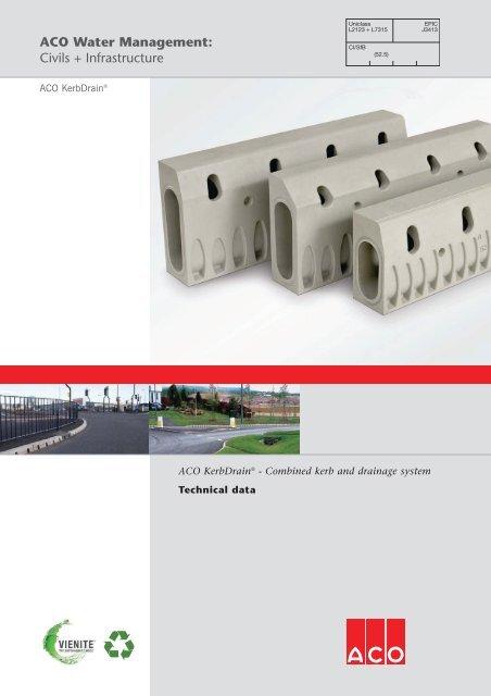 Pc20509 Kerbdrain Tech Brochure Aw Layout 1 Aco
