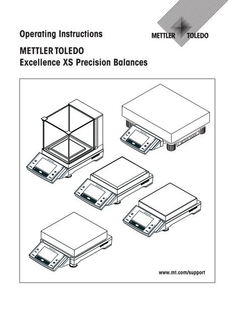 Operating Instructions Excellence XS Precision