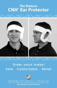 ACRYLIC PRESSURE EARRINGS - Delasco