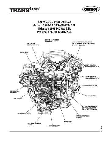Gm 4t60e Transmission Diagram, Gm, Free Engine Image For
