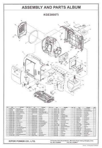 Electric wiring diagram