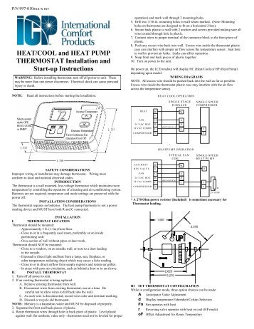 heat cool and heat pump thermostat installation and start ?resize=357%2C462 totaline thermostat p274 0200 wiring diagram totaline digital totaline thermostat p274 wiring diagram at bakdesigns.co