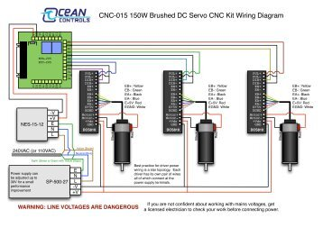 CNC022 Wiring Diagram  Ocean Controls