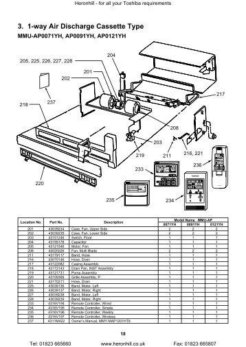 toshiba air conditioning installation manual