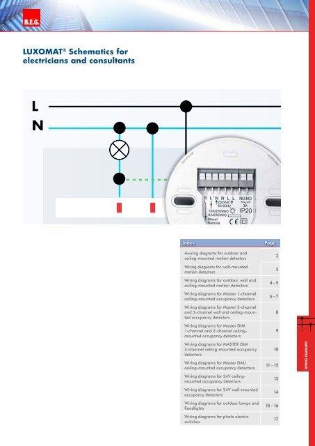 wiring diagrams  beg uk